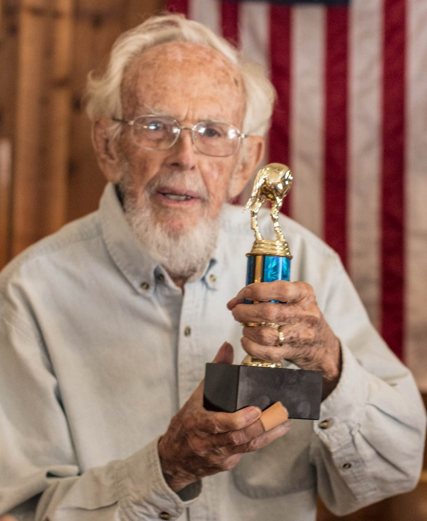 "Jack Webb and his 90th Birthday Present - a ""Jack"" Award"